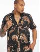 Grimey Wear Hemd Transsiberian Button Up schwarz 0