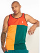 Grimey Wear Tank Tops Midnight Tricolor red