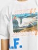 Heron Preston Camiseta Over Print blanco