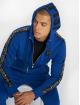 Horspist Zip Hoodie Snap blau