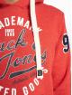 Jack & Jones Bluzy z kapturem jrcHamps czerwony