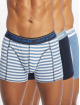 Jack & Jones Bokserit jacSolid Twist Trunks 3 Pack sininen
