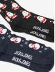 Jack & Jones boxershorts jacSnowmen Giftbox zwart