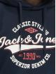 Jack & Jones Hettegensre Jjelogo blå