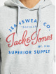 Jack & Jones Hoodie jjeLogo gray