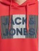 Jack & Jones Hoodie jjeCorp Logo Noos red