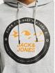 Jack & Jones Hoodies Jcobilo šedá