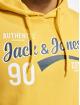 Jack & Jones Hoody jjeLogo gelb