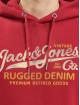 Jack & Jones Hoody jprBlustar rot