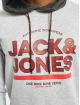 Jack & Jones Hoody jcoFund Sweat weiß