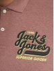Jack & Jones Polokošele jorVarcity ružová