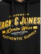 Jack & Jones Sweat capuche Jjelogo noir