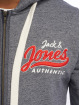 Jack & Jones Sweatvest jorVarcity Sweat blauw