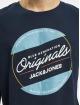 Jack & Jones T-Shirt jorTonni bleu