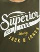 Jack & Jones T-Shirt jjeLogo Noos green