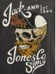 Jack & Jones t-shirt jorSkulling grijs
