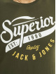 Jack & Jones T-Shirt jjeLogo Noos grün