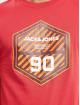 Jack & Jones T-Shirty jcoFriday-Disc czerwony