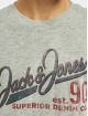 Jack & Jones T-skjorter jj30Jones Slub grå