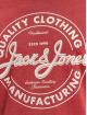 Jack & Jones Trika Jjejeans O-Neck červený