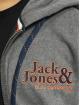 Jack & Jones Vetoketjuhupparit jorLars harmaa