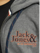 Jack & Jones Zip Hoodie jorLars серый