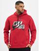 Jordan Bluzy z kapturem JMC Fleece czerwony