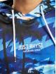 Just Rhyse Bluzy z kapturem Palm niebieski
