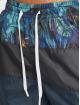Just Rhyse Kúpacie šortky Palm Habor modrá