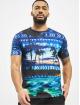 Just Rhyse T-shirt Palm Coast blå