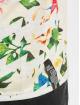 Just Rhyse t-shirt Flower grijs