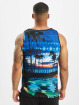 Just Rhyse Tank Tops Palm Coast niebieski