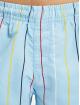 Karl Kani Šortky Signature Pinstripe modrá