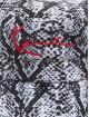 Karl Kani Шляпа Kk Signature Snake черный