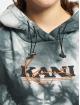 Karl Kani Bluzy z kapturem Retro bialy