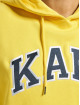 Karl Kani Bluzy z kapturem College zólty