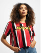 Karl Kani Camiseta Kk Sport Stripe Red rojo