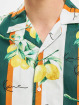 Karl Kani Chemise Chest Signature Resort blanc