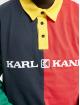 Karl Kani Hemd Retro Block Rugby rot