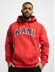 Karl Kani Hoodie College red