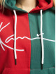 Karl Kani Hoodie Signature Block red