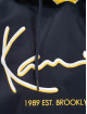 Karl Kani Hoody Signature Block blau