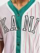 Karl Kani Koszule College Block Pinstripe Baseball fioletowy