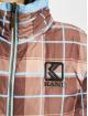 Karl Kani Kurtki pikowane Retro Reversible niebieski