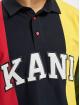 Karl Kani Longsleeve Kk College Block Rugby blau
