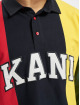 Karl Kani Longsleeve Kk College Block Rugby blauw