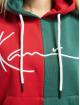 Karl Kani Mikiny Signature Block èervená