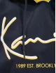 Karl Kani Mikiny Signature Block modrá