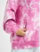 Karl Kani Mikiny Kk Signature Tie Dye pink