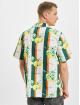 Karl Kani overhemd Chest Signature Resort wit